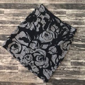 Ann Taylor floral dressy  skirt